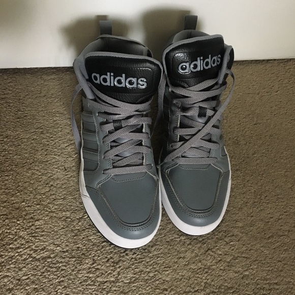 e40195a1052aa4 adidas Other - Adidas Neo Raleigh High Top Basketball Shoes